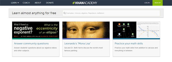 Khan academy è un organizzazione educativa creata da salman khan un