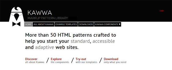 Kawwa Portal homepage