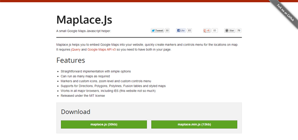 Maplace.js