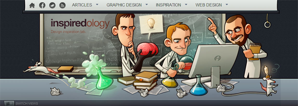Inspiredology - Design inspiration lab
