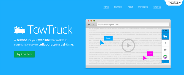Mozilla Labs - TowTruck