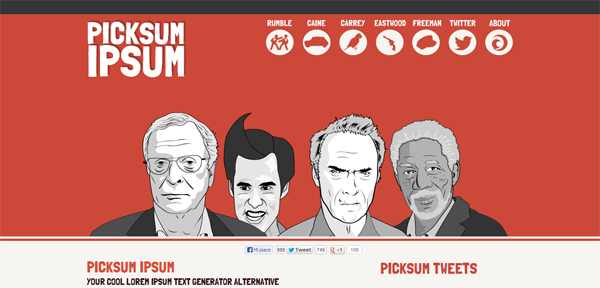 Picksum Ipsum Movie Lorem Ipsum Text Generator Alternative