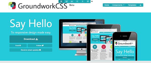 GroundworkCSS: framework responsive