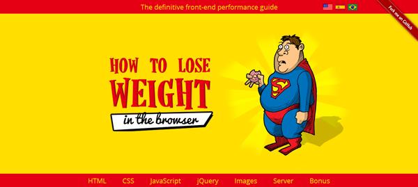 Come perdere peso (nei browser)