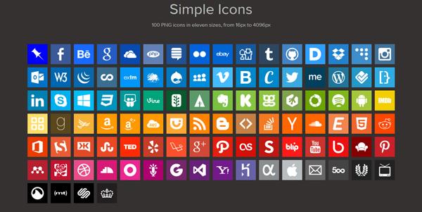100 icone gratis